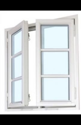 Sidehengslet Vindu fra H-vinduet